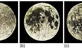 Izgled Meseca u proslosti