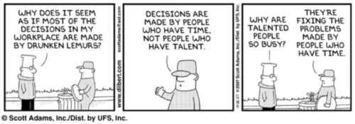 Ko donosi odluke? - Dilbert