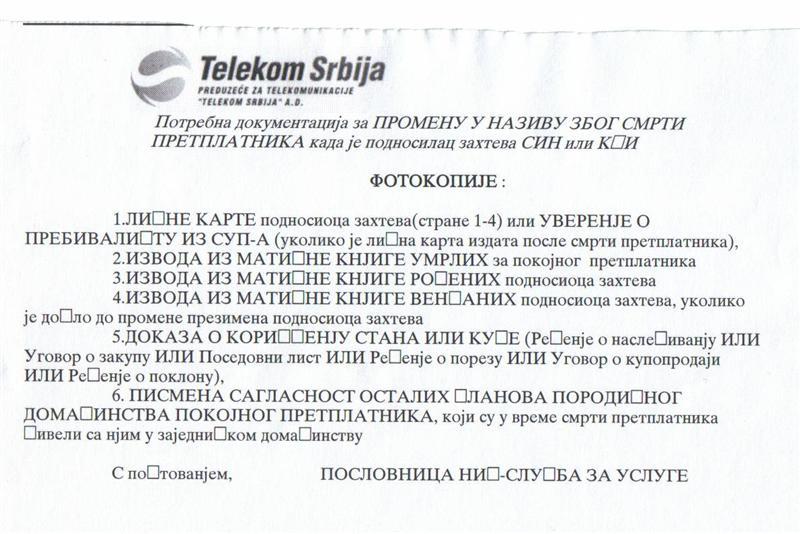 Telekom Srbija & nepismenost 1