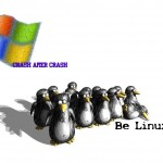 Blue screen of Dead...Crash, after crash - Be Linux