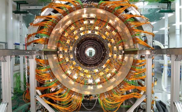 Jedan deo unutrasnjosti CMS detektora / (C) Maximilien Brice, CERN /
