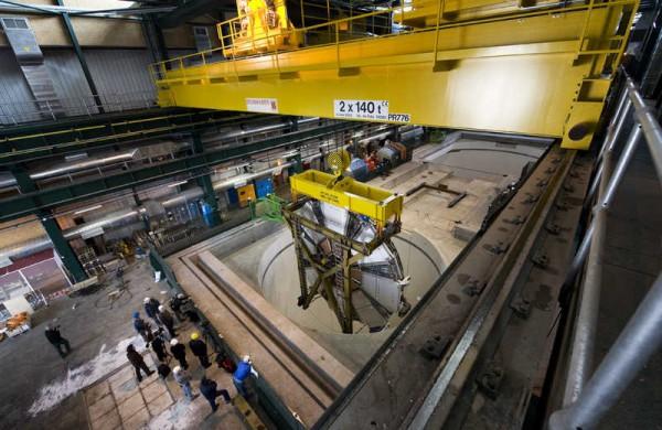 Spustanje malog točka - ATLAS / (C) Claudia Marcelloni, CERN)