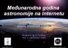 Astronomija @Blogopen 2009 (@e-Tvrđava) 1