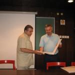 Dragan Radmilović (SAAS) i prof. dr Dragan Gajić (AD Alfa, Niš)