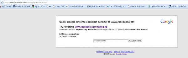 Facebook je mrtav? :) 1