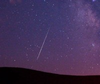Perseid iznad Kalifornije, 2009. godine (Kevin Clifford/Associated Press)