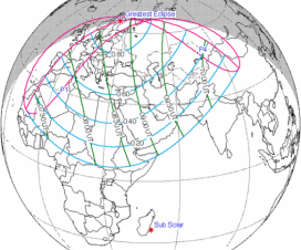 Novogodišnje pomračenje Sunca (4. januar 2011) 1