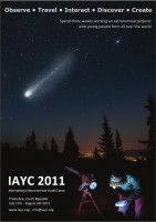 International Astronomical Youth Camp 2011 - Poster