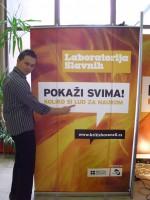 """""""Laboratorija slavnih"""" na festivalu nauke u Nišu 1"""