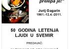 Pedeset godina letenja ljudi u svemir (predavanje) 4