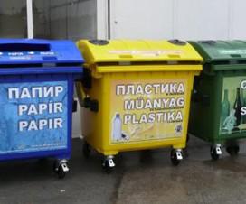 Slika 6. Sistem odvajanja odpada