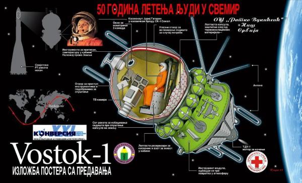 50 godina letenja ljudi u svemir (izložba) 2