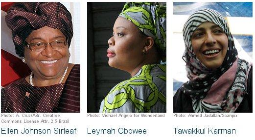 Nobelova nagrada 2011 - mir 2