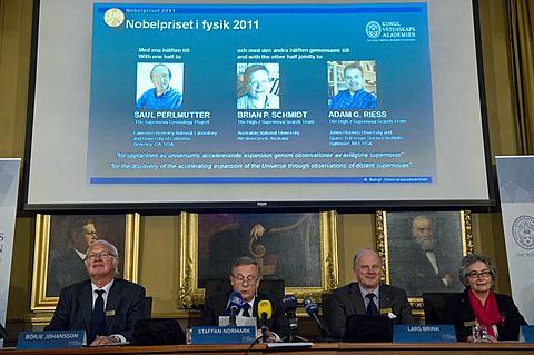 Nobelova nagrada 2011 - fizika 3