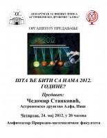 Predavanje: Šta će biti sa nama 2012. godine? 1