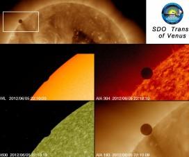 Najnovije fotografije tranzita Venere 7