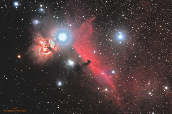 IC 434 (Flame nebula & Horse Head)