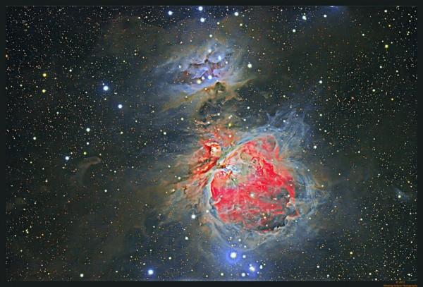 M 42 / NGC 1977 - Maglina u Orionu i Running Man maglina