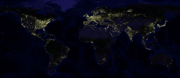 Slika dana: Zemlja noću [06.09.2013]