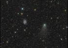 """""""Bliski"""" susret galaksije i komete [10.10.2013] 1"""