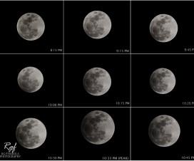 """Delimično """"pomračenje"""" Meseca [18.10.2013] 10"""