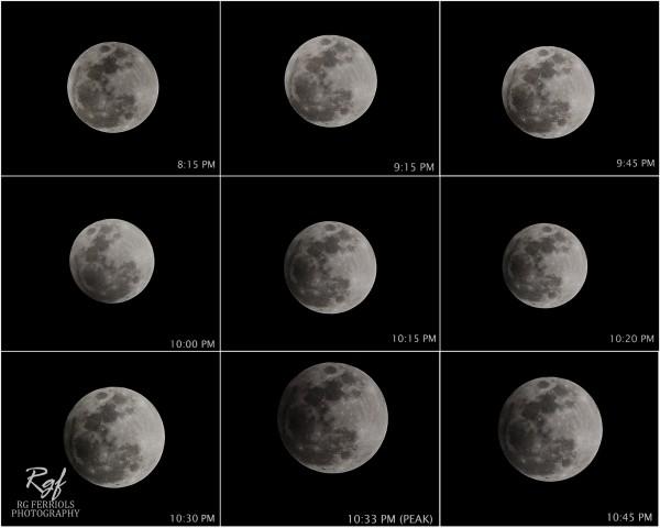 Slika dana: Mesec u polusenci [18.10.2013]