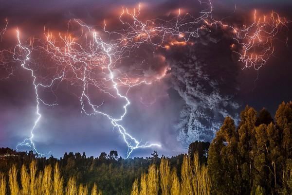 Slika dana: Erupcija vulkana Cordon Caulle [26.10.2013]
