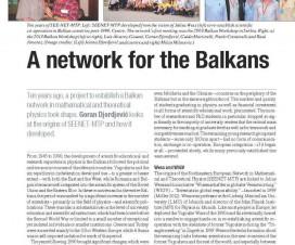 O umrežavanju Balkana 9