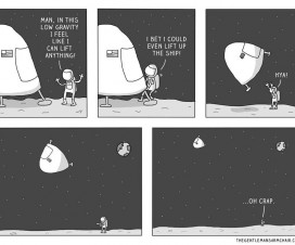 Slika dana: Gravitacija [23.02.2014]