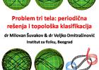 """Problem tri tela: periodična rešenja i topološka klasifikacija"" 2"