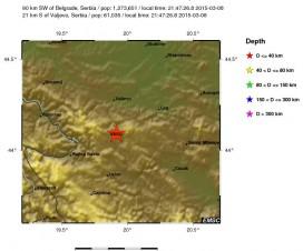 Zemljotres u okolini Valjeva 2