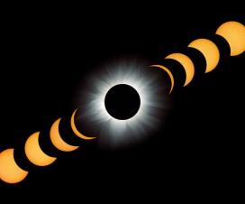 Totalno pomračenje Sunca, 21. jun 2001( Chisamba, Zambia); foto:  Fred Espenak