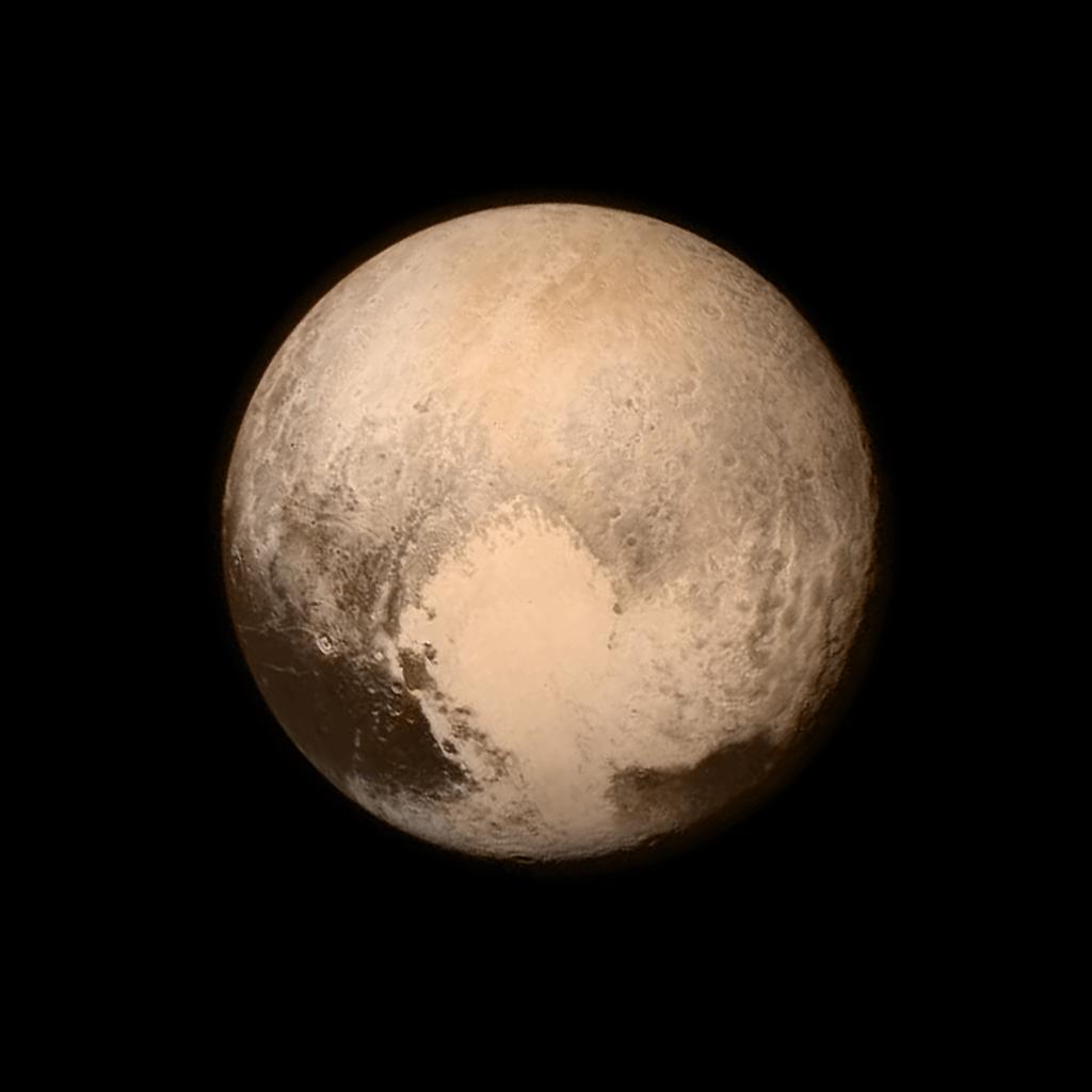 Pluton - snimak New Horizons misije