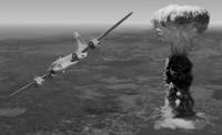 "Bombarder ""Enola Gay"" nakon izbacivanja atomske bombe"