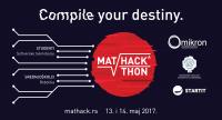 Omikron vam predstavlja MatHackathon 2017! 1