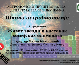 """""""Život zvezda"""" - prezentacija i video 2"""