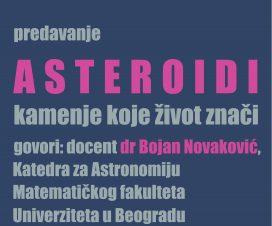 """Predavanje: """"Asteroidi - kamenje koje život znači"""" 3"""