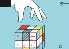 Takmičenje u slaganju Rubikove kocke na Trgu Republike 4