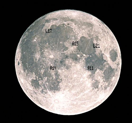 """Apolo 11: 49 godina posle prve """"razglednice"""" sa Meseca 5"""