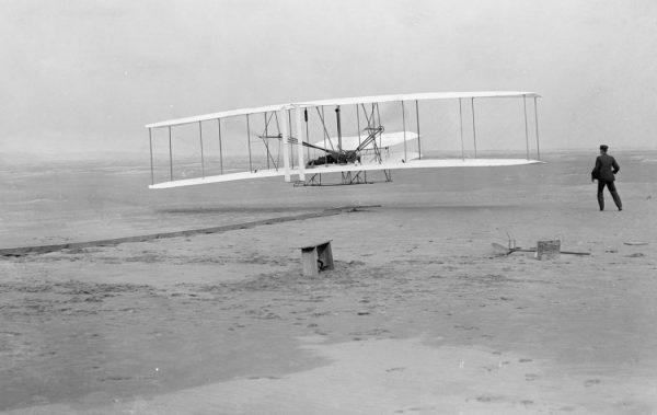 Prvi uspešan let avionom braće Rajt 1