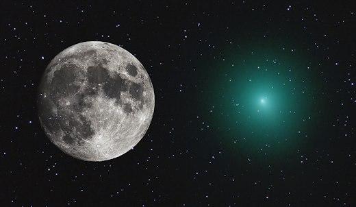 Kometa 46P/Wirtanen najbliža Zemlji 1
