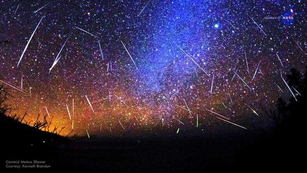 Meteorski roj Geminidi 2