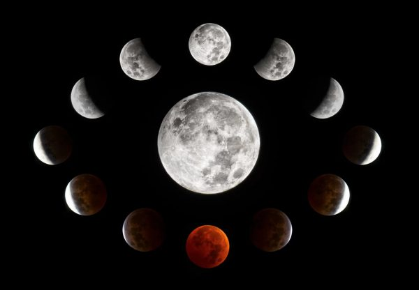 "Totalno pomračenje ""krvavog"" (super)Meseca - 21. januar 2019 1"