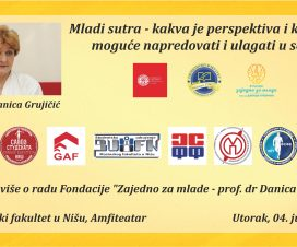Predavanje prof. dr Danice Grujičić na Ekonomskom fakultetu u Nišu 3