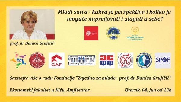 Predavanje prof. dr Danice Grujičić na Ekonomskom fakultetu u Nišu 1