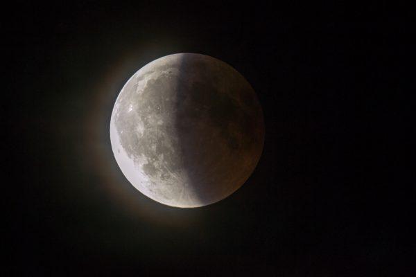 Delimično pomračenje Meseca (16. jul 2019) 3