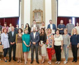 U Rektoratu BU dodeljena priznanja dobitnicima Javnog poziva 5