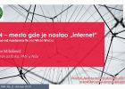 "CERN mesto gde je nastao ""internet"" (snimak predavanja) 1"