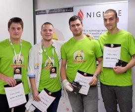 Ekipa sa PMF-a u Nišu osvojila drugo mesto na SICEF Hakatonu #6 8