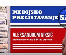 Medijsko prelistavanje sa Aleksandrom Nikšić 3